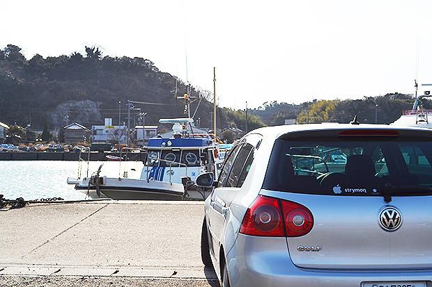 南知多の大井漁港