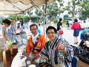 愛知県阿久比町高根台自治会主催夏祭り