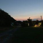 美浜町小野浦のキャンプ場を取材してきました