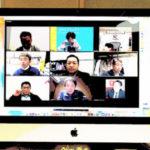 愛知県でZoomミーティングを試行中です