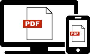 ホームページへPDFファイルを直接掲載